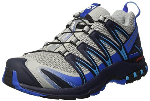 Salomon Mens Xa Pro 3d Trail Runner Quarry / Blu Nautico / Oceano Hawaiano