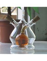 PickUp 11.5cmx7cm Oil Vinegar Glass Bottle Soy Cruet Set Season Bottle for Kitchen Bar Cooking Tool Kit discount
