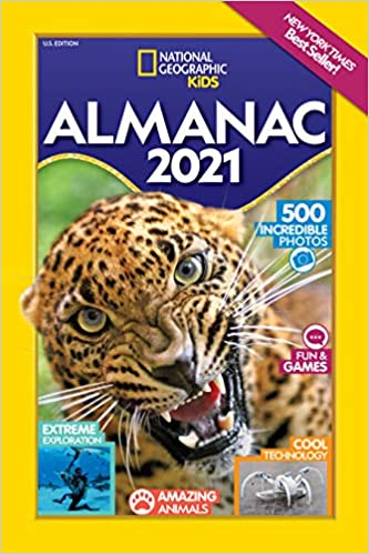 Best Kids Books 2021 National Geographic Kids Almanac 2021, U.S. Edition (National