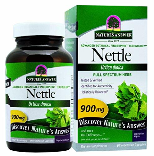 Réponse Nettle Leaf végétarien de la nature Capsules, 90-comte