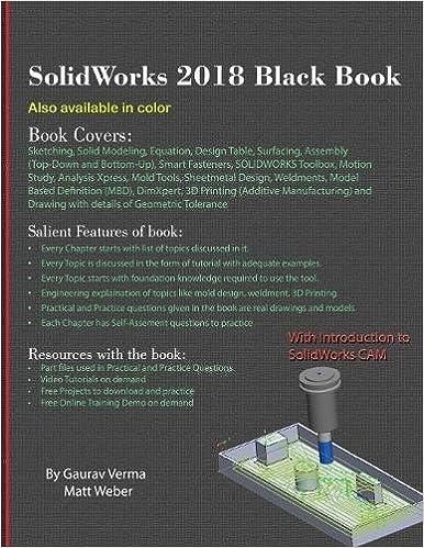 SolidWorks 2018 Black Book: Amazon.es: Gaurav Verma, Matt Weber: Libros en idiomas extranjeros