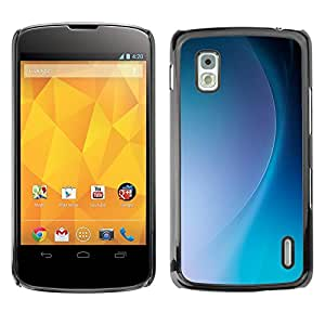 MOBMART Carcasa Funda Case Cover Armor Shell PARA LG Nexus 4 E960 - Radiant Sky Energy