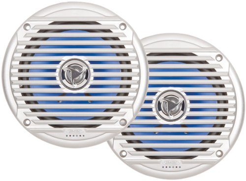 Jensen MSX60SR Coaxial Waterproof Speakers - 6.5