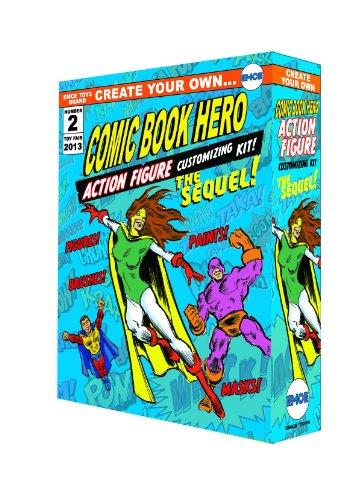 Spherewerx Create Your Own Comic Book Hero Customizing Kit The Sequel Action Figure -