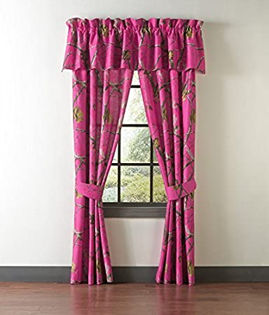 Curtains Ideas cheap camo curtains : Amazon.com: Realtree Hot Pink Camo Camouflage Drapes / Curtains ...