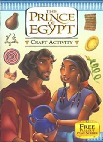 The Prince of Egypt: Craft Activity Book (Dreamworks) (1998-09-24)