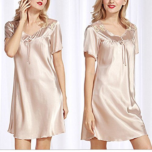 Nightgown Women Wedding Woman Bridesmaid Silk Robe Camel Sleepwear Zhhlaixing Fashion Bathrobe Kimono Pajamas Robes Bride Short Dress Satin 2111 7wH8HXq