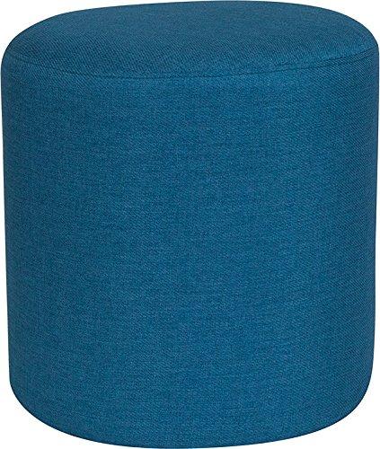 Awe Inspiring Amazon Com Emma Oliver Taut Upholstered Round Ottoman Inzonedesignstudio Interior Chair Design Inzonedesignstudiocom