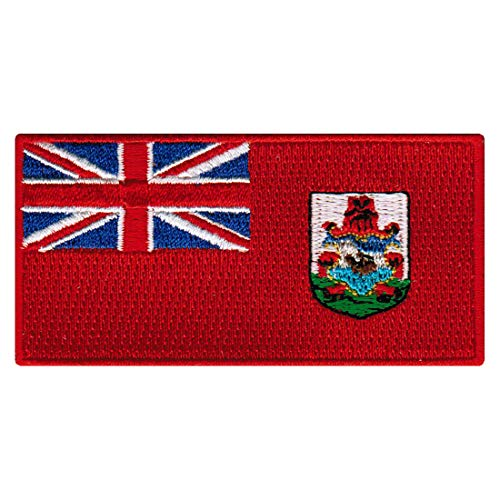 Bermuda Islands Flag Embroidered Patch Iron-On Somers Isles National Emblem
