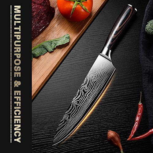 Kitchen Knife DABOWEN DANDAO-sfsdhf-01 by AUIIKIY (Image #1)