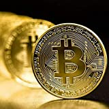 3Pcs Bitcoin Coin - Gold Silver and Bronze Physical