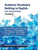 img - for Academic Vocabulary Building in English: Low-intermediate (Pitt Series in English As a Second Language) book / textbook / text book