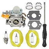 HIPA 308054034 308054014 Carburetor with Tune Up Kit for Ryobi RY09053 RY09055 RY09056 RY08554 RY09907 Leaf Blower Vacuum