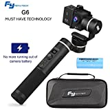 Feiyu G6 3-Axis Handheld Gimbal Stabilizer with WIFI Bluetooth Connection, 12Hrs Runtime, OLED Screen for Gopro Hero 6/5/4/3/Session, Sony RX0, Yi Cam 4K, AEE Action Cameras (Updated Version of G5)