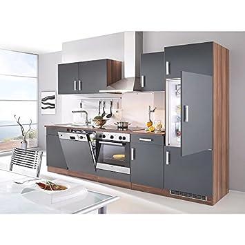 Küchenzeile Toronto Mit E Geräten Gesamtbreite 280 Cm