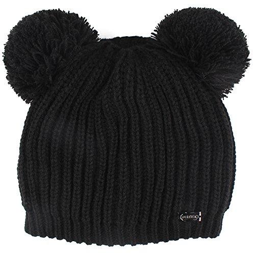 FURTALK Kids Winter Hat Pom Beanie Knit Skull Cap Hats for Children Baby Boys Girls Toddler 1-5 Years