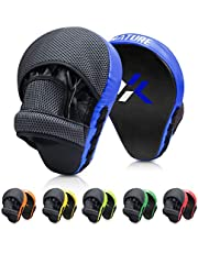 Xnature Boxing Pads Focus Mitts,Punching Mitts Great for MMA, Martial Arts, Kickboxing,Muay Thai, Kickboxing,Hook and Jab Target Hand Pads