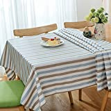 HOMEE Simple modern style waterproof cloth cotton dust cloth rectangular lattice Christmas decorations,D,140X180cm