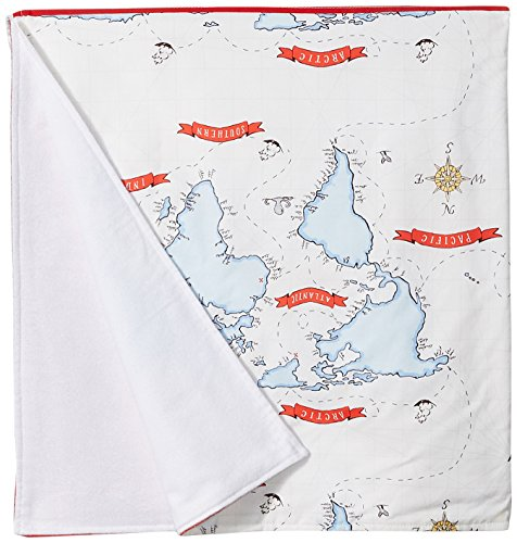 (New Arrivals Out To Sea In Blue Crib Blanket-Nighttime Blue, Gray &)