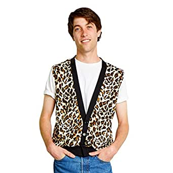 Amazon.com: 80's Ferris Bueller's Day Off Costume Vest: Clothing