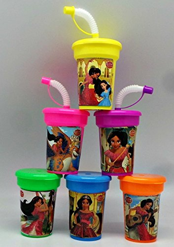 Elena of Avalor Party Cups 6 pack Sipper Favor Cups