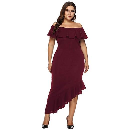 Women Party Dresses, Cinsanong Sale! Plus Size Loose ...