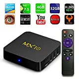 Android tv Box 8.1, MX10 Android TV Box with Quad Core 4GB DDR4/32GB eMMC Storage True 4K HDR @60fps UHD Video Playback USB 3.0 and Fast Ethernet Port/WiFi [M8S MXQ Upgraded/8 Seconds Fast Boot] Review