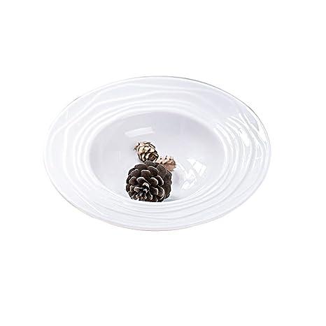 Cuenco de cerámica de Estilo Occidental Cuencos de Pasta Cubiertos de Restaurante Occidental Cubiertos creativos Cuencos