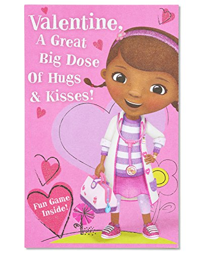 American Greetings Doc McStuffins Valentine's Day Card wi...
