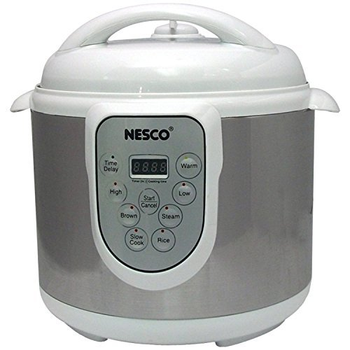Nesco PC6-14 4-in-1 Digital Pressure Cooker, 6-Quart by Nesco