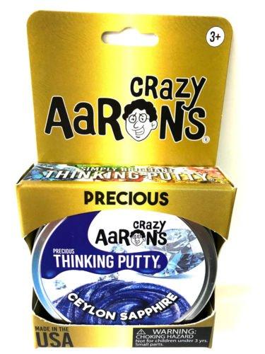 - Ceylon Sapphire Blue Precious Gems Crazy Aaron's Thinking Putty tin New 1.6 Oz