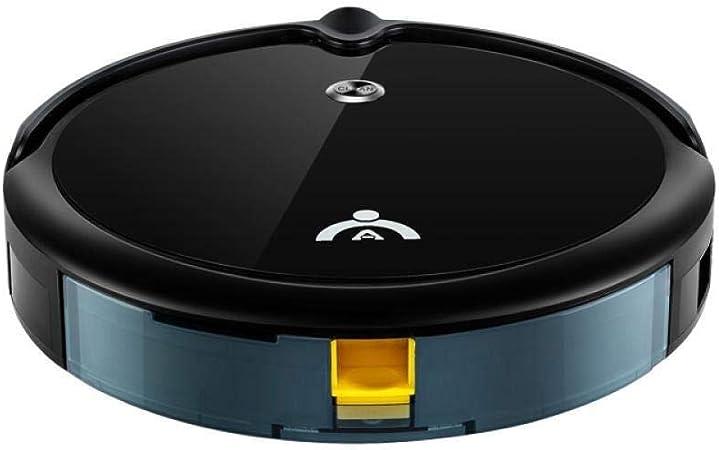 HYL Aspiradora inteligente Robot Vacuum Cleaner, Limpia pisos duros y delgada cámara de alfombras for el hogar inteligente Alta Definición completamente automática Gyro navegación ultra-delgado silenc: Amazon.es: Hogar
