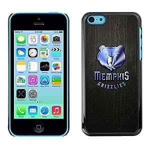 Stuss Case / Funda Carcasa protectora - Memphis Grizzlie Baloncesto - iPhone 5C