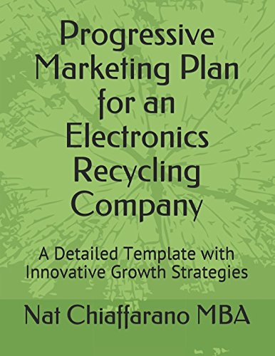 Progressive Marketing Plan for an Electronics Recycling Company: A Detailed Template with Innovative Growth Strategies