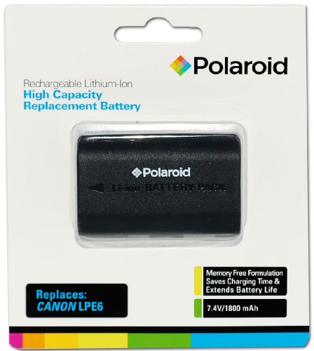 Polaroid Capacity Rechargeable Replacement Compatible