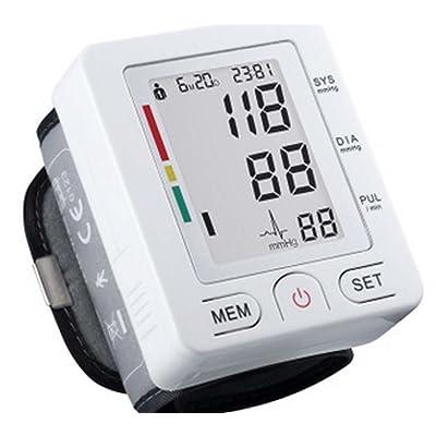ZRJNBPM Mode de poignet Moniteur de pression artérielle électronique automatique Appareils électroniques de mesure de la pression artérielle intelligents intelligents au ménage Précis