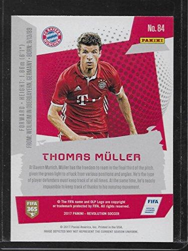 2016 2016-17 Panini Donruss Dominators Holographic #24 Thomas Muller Rookie Card
