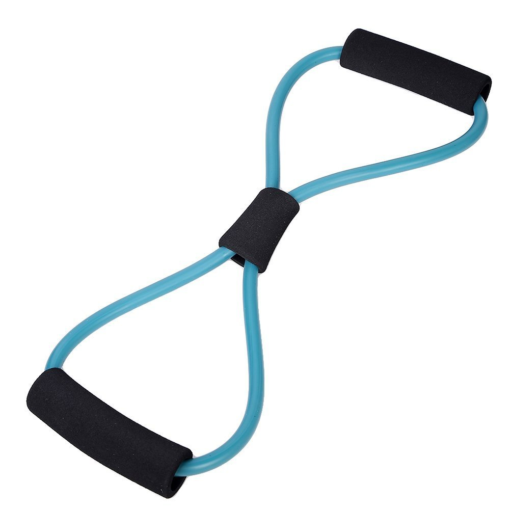 Resistance Bands Tube Fitness Muscle Workout Exercise Yoga Tubes Big Bargain Store ISOMA97