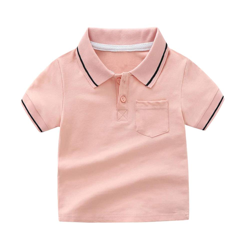 Motecity Fashion Little Boys Casual Polo-Shirt