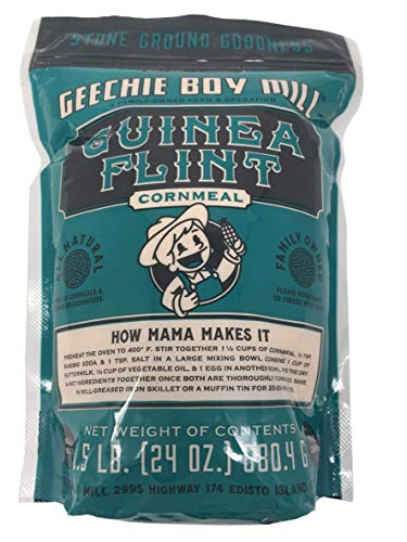 Geechie Boy Mill Guinea Flint Cornmeal, 24 Ounce Bag