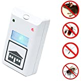 Riddex Plus Pest Repeller Pest Control Against Mouse, Rat and Insects with Built in Night Light