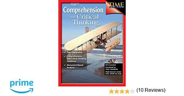 Amazon.com: Comprehension and Critical Thinking Grade 2 ...
