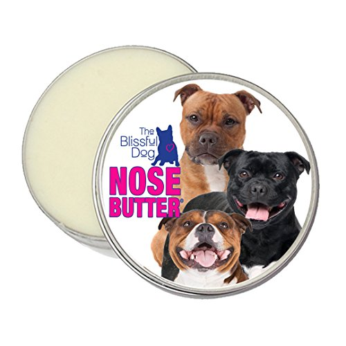 (The Blissful Dog Pit Bull Terrier Nose Butter - Dog Nose Butter, 1 Ounce)