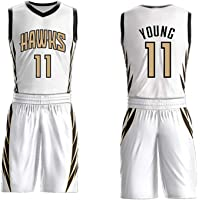 POAA Maillot de Baloncesto Trae Young 11 Hawks