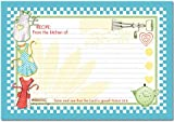 "Retro Aprons 4"" X 6"" Recipe Cards with Scripture - Pkg. Of 36"