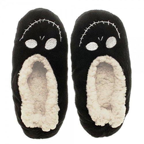 Cauchemar Avant Noël Jack En Peluche Confortable Pantoufles Unisexes - Taille L / Xl