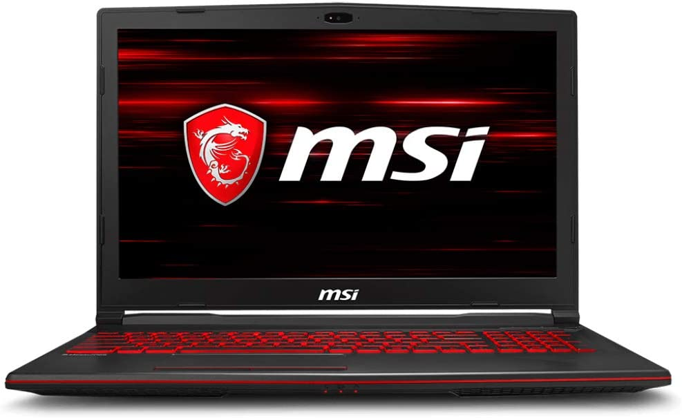 MSI GL63 8RD-210US Gaming Laptop i7-8750H GTX 1050Ti 4GB, 8GB RAM, 256GB SSD + 1TB HDD, 15.6""