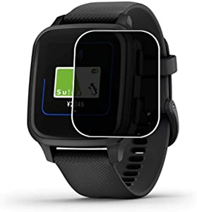 Puccy Privacy Screen Protector Film, compatible with GARMIN vivo Venu Sq Music Anti Spy TPU Guard ( Not Tempered Glass Protectors )