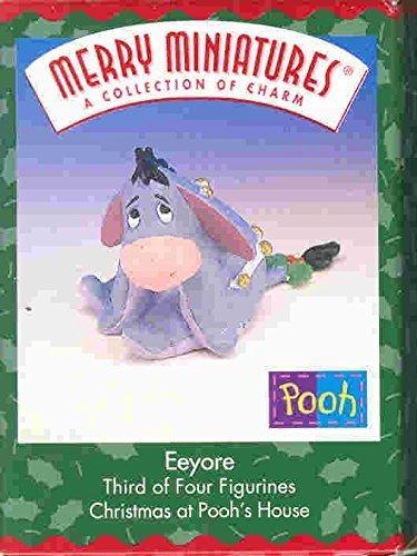 Hallmark Merry Miniatures Eeyore 1999