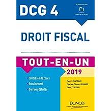DCG 4 - Droit fiscal - Tout-en-Un - 2019 (Tout-en-Un DCG) (French Edition)